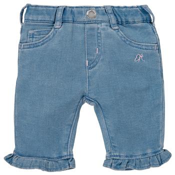 Vêtements Fille Pantalons 5 poches Emporio Armani Arthur Bleu