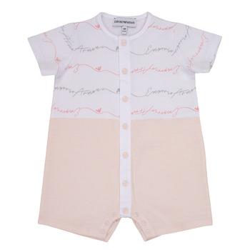 Vêtements Fille Combinaisons / Salopettes Emporio Armani Adem Rose
