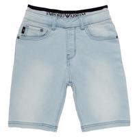 Vêtements Garçon Shorts / Bermudas Emporio Armani Albert Bleu