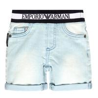 Vêtements Garçon Shorts / Bermudas Emporio Armani Ariel Bleu