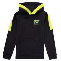 Kleidung Jungen Sweatshirts Emporio Armani Abel Marineblau