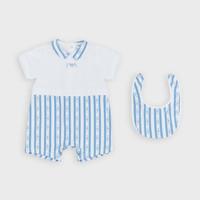 Kleidung Jungen Overalls / Latzhosen Emporio Armani Adam Blau
