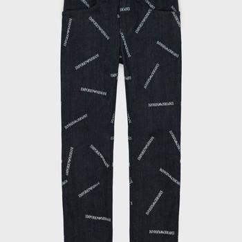 Abbigliamento Bambino Jeans dritti Emporio Armani Adil