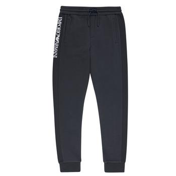 Kleidung Jungen Jogginghosen Emporio Armani Anderson Marineblau