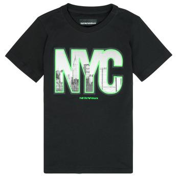 Abbigliamento Bambino T-shirt maniche corte Emporio Armani Ambroise