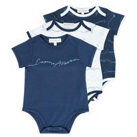 Kleidung Jungen Pyjamas/ Nachthemden Emporio Armani Andrew Marineblau
