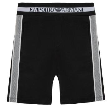 Vêtements Garçon Shorts / Bermudas Emporio Armani Aubert Noir