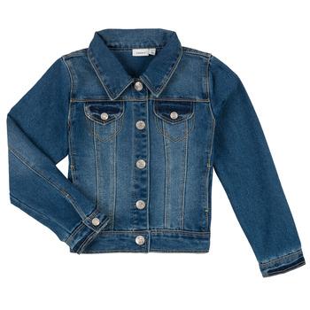 Vêtements Garçon Vestes en jean Name it NITSTAR RIKA Bleu
