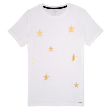 Vêtements Fille T-shirts manches courtes Name it NKFBONITA Rose