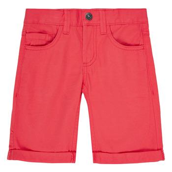 Vêtements Garçon Shorts / Bermudas Name it NKMSOFUS TWIISAK Rouge