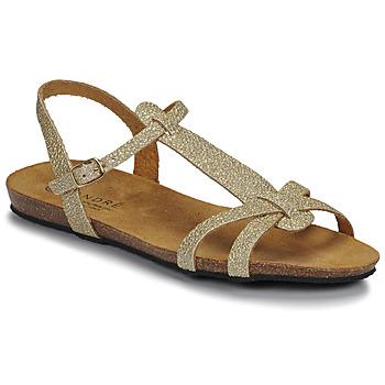 Chaussures Femme Sandales et Nu-pieds André BORA Or