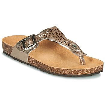 Chaussures Femme Sandales et Nu-pieds André RILA Or