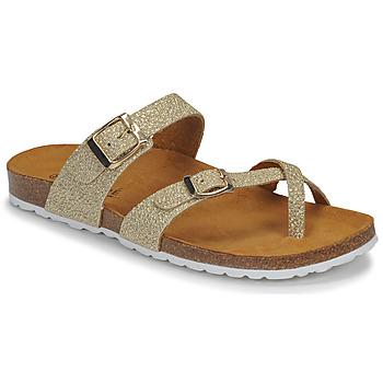 Chaussures Femme Sandales et Nu-pieds André REJANE Or