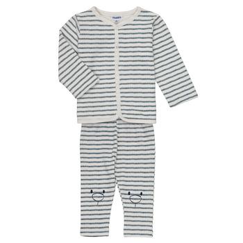 Vêtements Garçon Ensembles enfant Noukie's KAIS Blanc