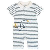 Kleidung Jungen Overalls / Latzhosen Noukie's IMRAN Weiß