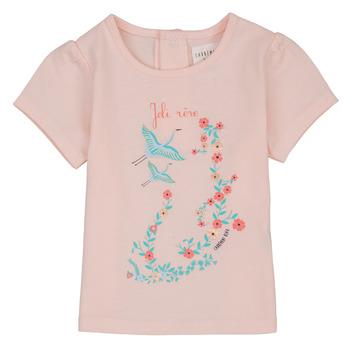 Abbigliamento Bambina T-shirt maniche corte Carrément Beau NOLAN