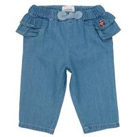 Kleidung Mädchen Slim Fit Jeans Carrément Beau ISAQ Blau