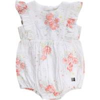 Kleidung Mädchen Overalls / Latzhosen Carrément Beau KAIS Weiß