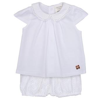 Kleidung Mädchen Kleider & Outfits Carrément Beau LORELLI Weiß