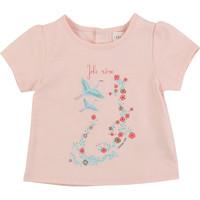Vêtements Fille T-shirts manches courtes Carrément Beau JUSTINE Rose