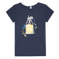 Kleidung Mädchen T-Shirts 3 Pommes LOGAN Blau