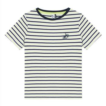 Kleidung Jungen T-Shirts 3 Pommes NORDINE Gelb