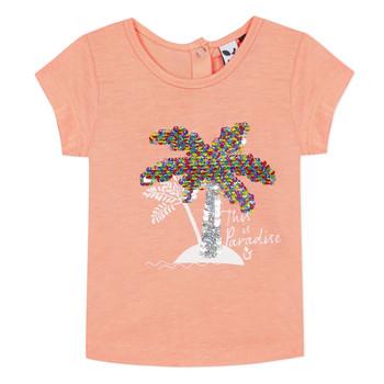 Vêtements Fille T-shirts manches courtes 3 Pommes EMMA Orange