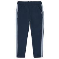 Vêtements Fille Pantalons 5 poches 3 Pommes SYLVANA Bleu
