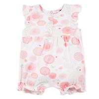 Kleidung Mädchen Overalls / Latzhosen 3 Pommes ELOISE Weiß