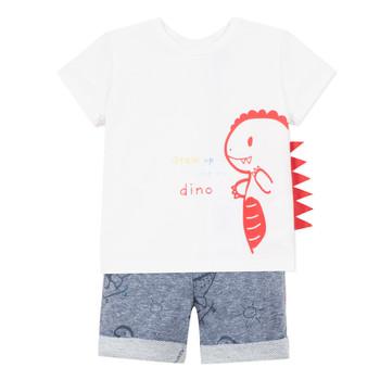 Kleidung Jungen Kleider & Outfits 3 Pommes ANOUCK Weiß