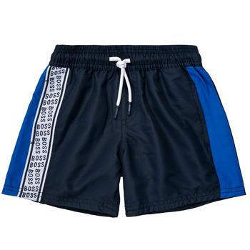 Kleidung Jungen Shorts / Bermudas BOSS MOZEL Blau