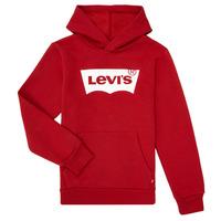 Vêtements Garçon Sweats Levi's BATWING SCREENPRINT HOODIE Rouge