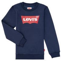 Kleidung Jungen Sweatshirts Levi's BATWING CREWNECK Marineblau