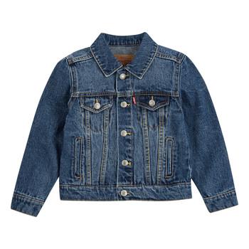 Kleidung Jungen Jeansjacken Levi's TRUCKER JACKET Blau
