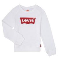 Vêtements Fille Sweats Levi's KEY ITEM LOGO CREW Blanc