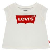 Kleidung Mädchen T-Shirts Levi's BATWING TEE Weiß