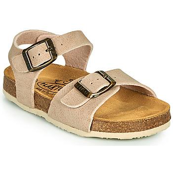 Schuhe Kinder Sandalen / Sandaletten Plakton LOUIS Beige
