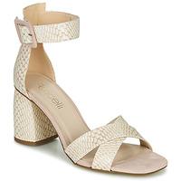 Chaussures Femme Sandales et Nu-pieds Fericelli JEZI Blanc / rose