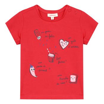 Kleidung Mädchen T-Shirts Catimini MUSIKOU Rot