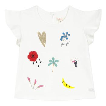 Kleidung Mädchen T-Shirts Catimini NADEGE Weiß