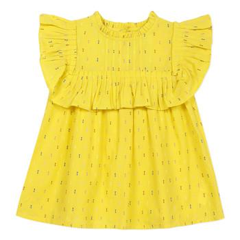 Kleidung Mädchen Tops / Blusen Catimini MAINA Gelb
