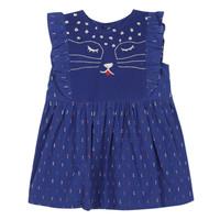 Vêtements Fille Robes courtes Catimini CHARLES Bleu