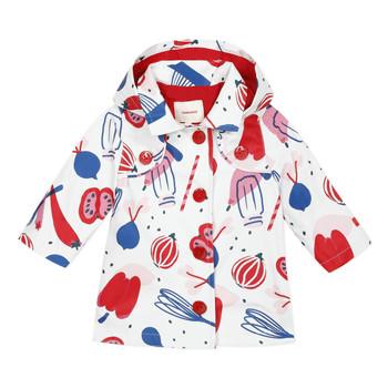 Vêtements Fille Parkas Catimini THEOLIO Blanc