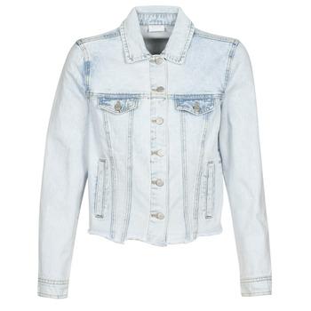 Abbigliamento Donna Giacche in jeans Vila VIANNABEL