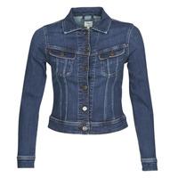 Vêtements Femme Vestes en jean Lee SLIM RIDER JACKET