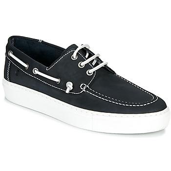 Schuhe Herren Bootsschuhe Casual Attitude MILIA Marineblau / Weiß