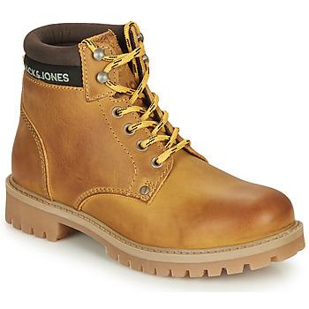 Chaussures Garçon Boots Jack & Jones JR STATTON LEATHER