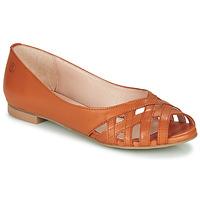 Schuhe Damen Sandalen / Sandaletten Betty London MANDISE Kognac