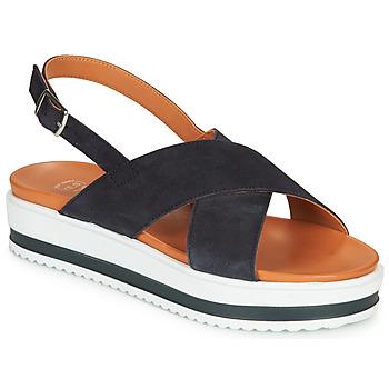 Schuhe Damen Sandalen / Sandaletten Betty London MAFI Marineblau