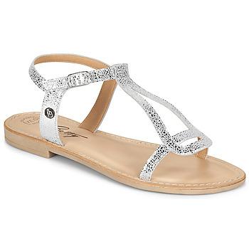 Schuhe Damen Sandalen / Sandaletten Betty London MISSINE Silbrig
